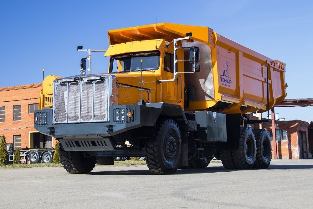 Тонар-7501. Грузоподъемность 60 тон